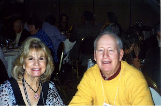 Photo: Sandy Swanson Leach, '59, and Richard Leach
