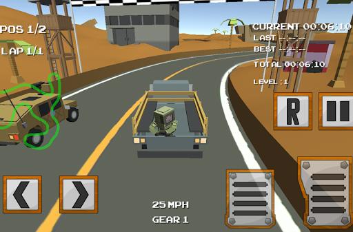块状军的赛车模拟器