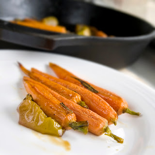 Cider Roasted Carrots and Apples