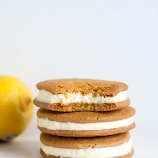 Lemon Cheesecake Sandwich Cookies