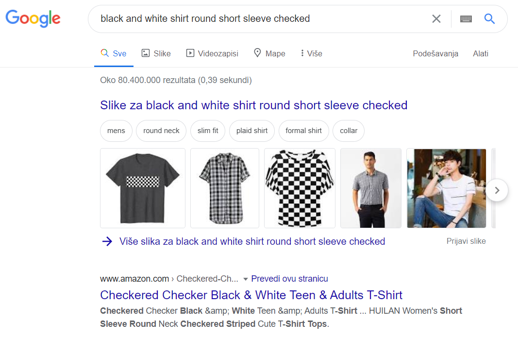 Results are mostly from SEO-optimized sites like Amazon and Aliexpress