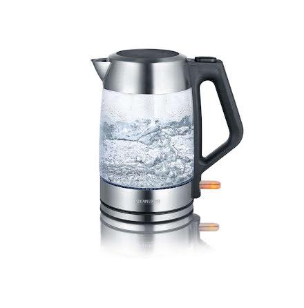Severin vattenkokare i glas WK-3475