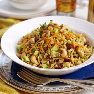 Indian-Style Rice Salad.