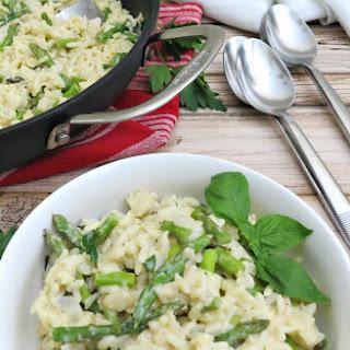 Creamy Asparagus Risotto Recipe