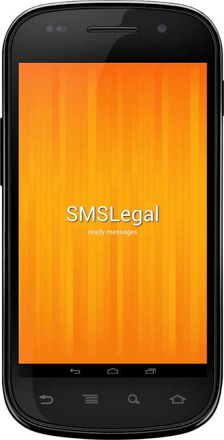 SMSLegal ready messages.- screenshot