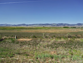 Photo: Day 19 Dubois to Riverton 79 miles 1410' climbing: country on the way to Riverton
