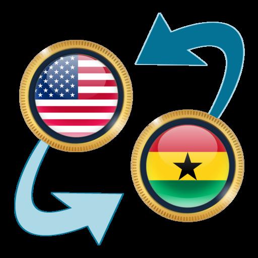 Us Dollar To Ghanaian Cedi S On