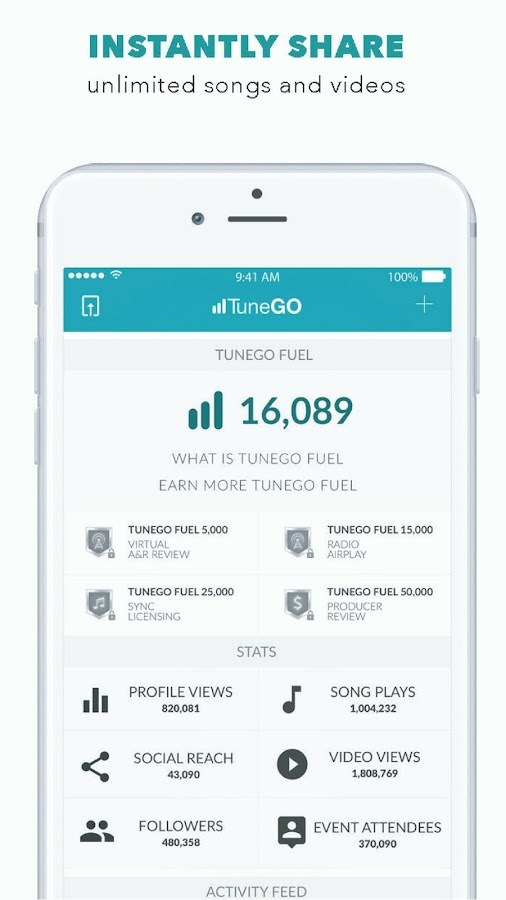TuneGO- screenshot