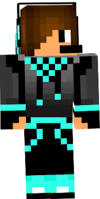 skin do youtuber anonimous