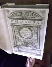 Photo: 015 Biblia Sacra 1400-luvun painoksena luostarin kirjastossa