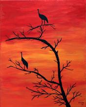 Photo: Um dos trabalhos pintados este ano por Nuno Rodrigues