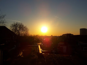 Photo: Sunset from my roof