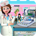 Hospital Cash Register Cashier Games For Girls icon