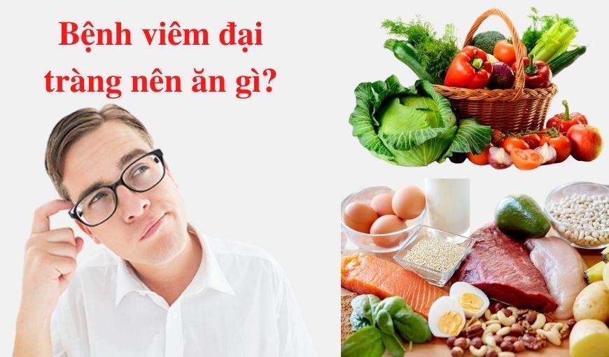 Chế độ dinh dưỡng dành cho bệnh nhân viêm đại tràng