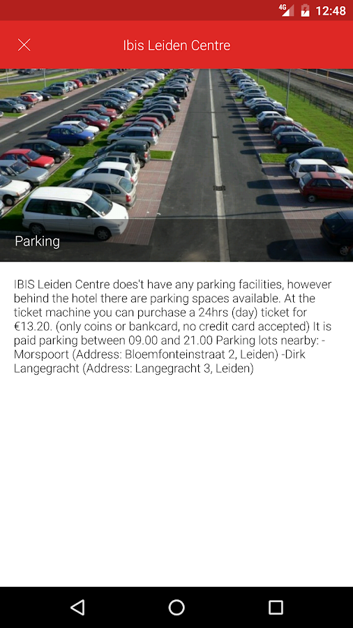 Hotel ibis Leiden Centre- screenshot
