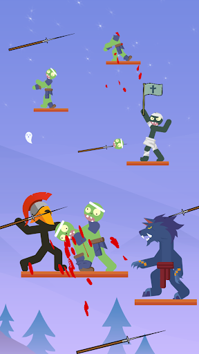 The Warrior - Top Stickman 1.1.3 screenshots 1