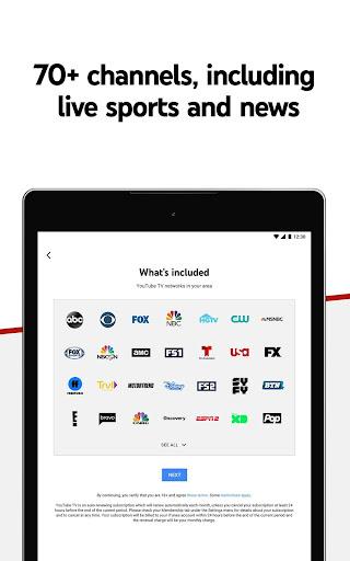 YouTube TV - Watch & Record Live TV screenshots 12