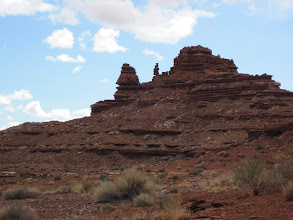 "Photo: ""Second pyramid"" on the mesa top hike section"