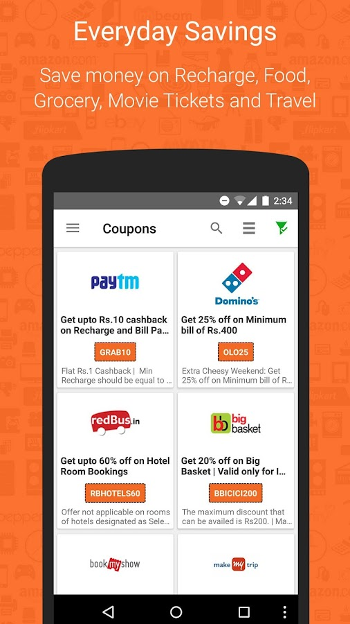Deals, Coupons & Compare Price- screenshot