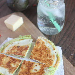 Avocado Cheddar and Sun-Dried Tomato Quesadilla Recipe