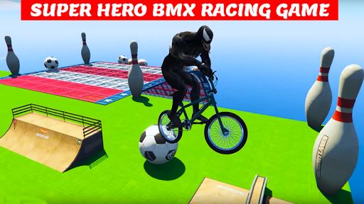 Superhero Bmx Racing Simulator game 1.2 screenshots 4