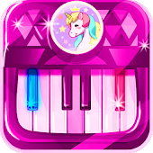 Unicorn Piano Icon