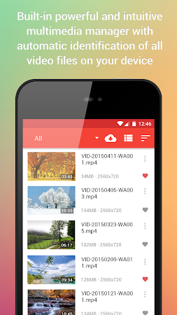 Video Player for Android 1.8 screenshot 144423