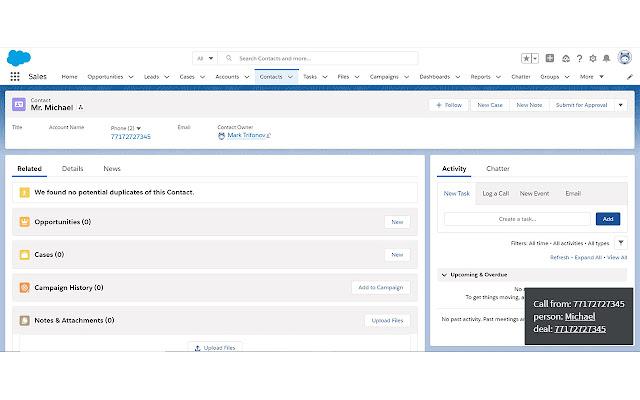 CallGear Salesforce integration