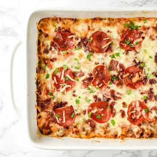 Meat Lover'S Spaghetti Squash Pizza Casserole Recipe