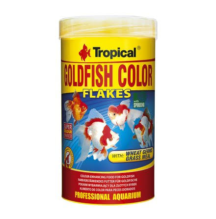 Tropical Goldfish Color Flakes 250ml/50g