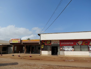 "Photo: Albina - chinese shops and ""Cambio"""
