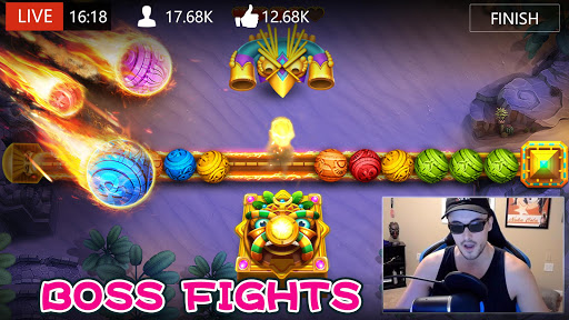 Marble Dash-Jungle Marble Game 1.1.431 screenshots 21