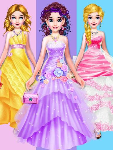 Dress Up Girls Game : Stylist - Fashion Salon  captures d'écran 2