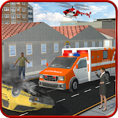 Ambulance Rescue Helicopter 3D