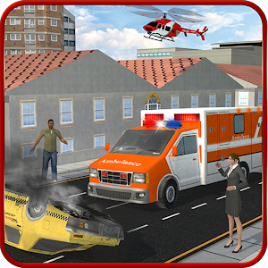 Ambulance Rescue Helicopter 3D for PC and MAC