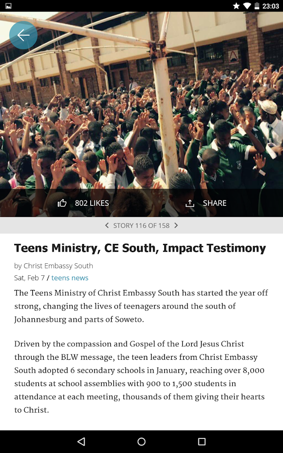 LoveWorld News- screenshot