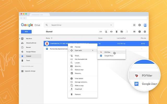google drive app convert to pdf