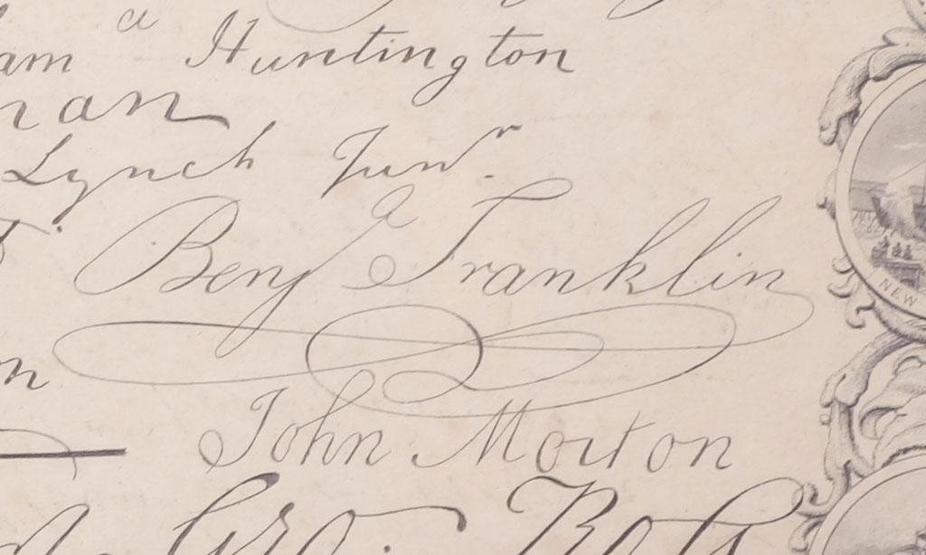 signatures on paper