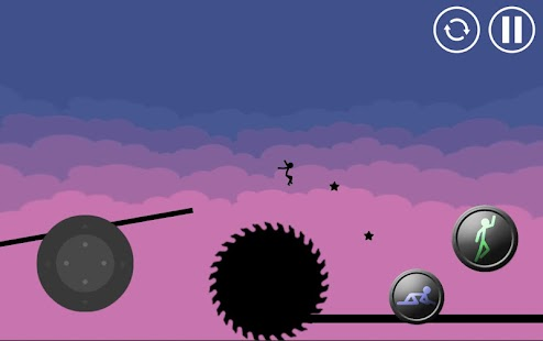 Stickman Parkour Platform screenshot