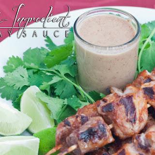 4-Ingredient Paleo Satay Sauce, a.k.a. Devi's Magic Sauce.