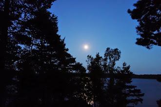 Photo: Fuldmåne over Vinnø