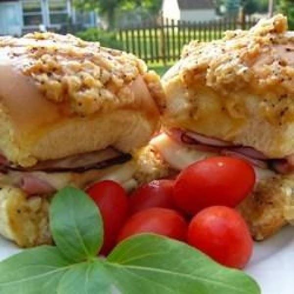 Hawaiian Ham And Cheese Sliders Recipe