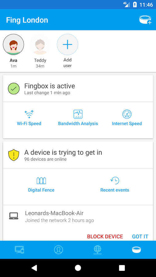 Fing - Network Tools- screenshot