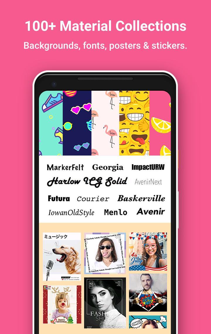 PhotoGrid: Video & Pic Collage Maker, Photo Editor Screenshot 2
