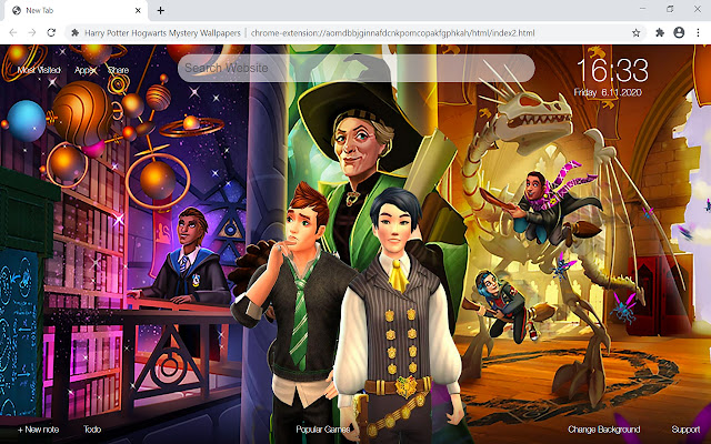Harry Potter Hogwarts Mystery Wallpapers