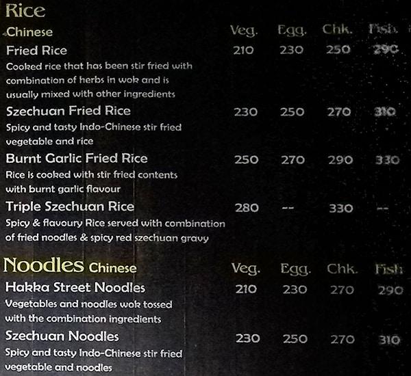 TED Resto Bar menu 5