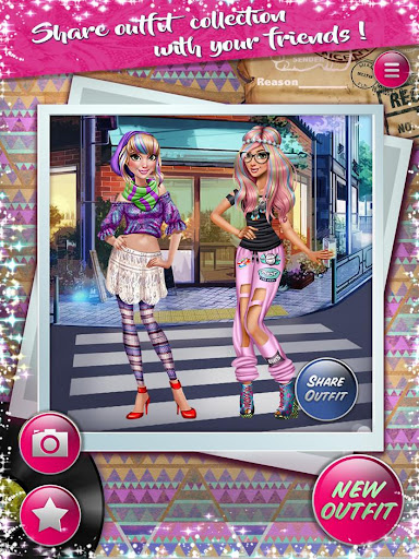 Dress up Game: Dolly Hipsters 1.1 screenshots 10