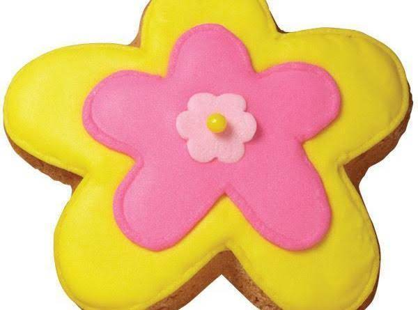 Wow Flower Cookie