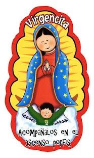 Virgen De Guadalupe Caricatura Animada - náhled