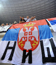 Photo: Serbia fans from city of Nis